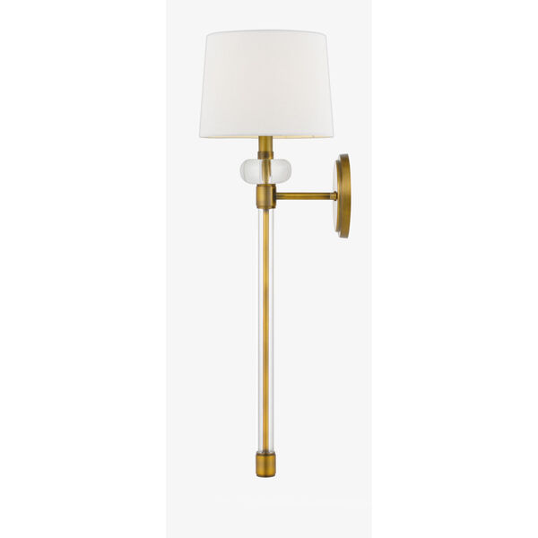 Barbour Weathered Brass One-Light Wall Sconce, image 4