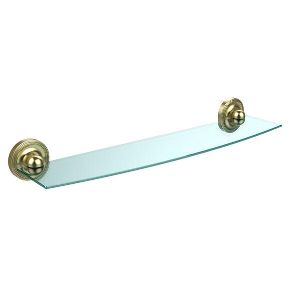 Prestige Regal Satin Brass Single Shelf, image 1
