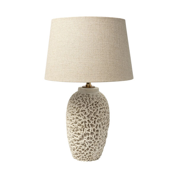 Mariam Beige One-Light Table Lamp, image 1
