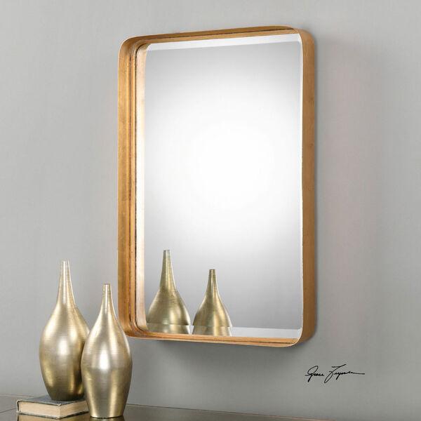Crofton Antique Gold Mirror, image 1