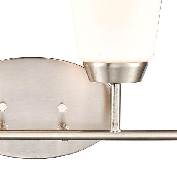 Winslow Silver Brushed Nickel Four-Light Bath Vanity, image 4