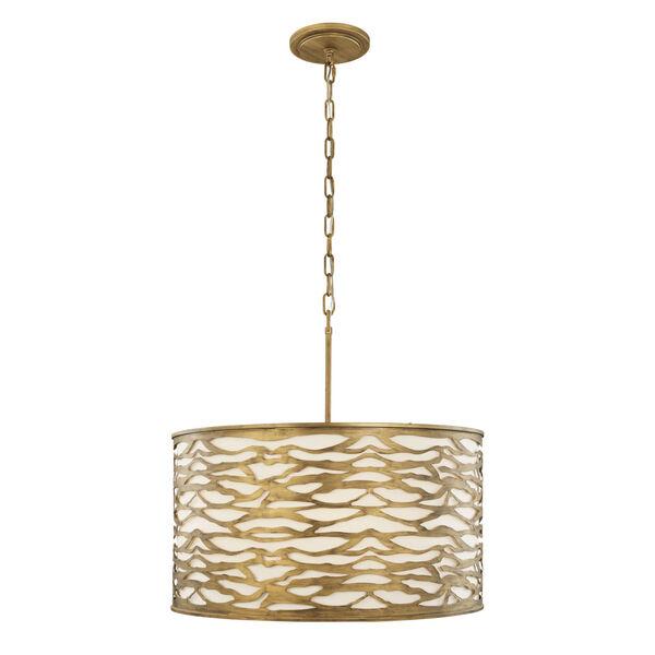 Kato Havana Gold Five-Light Pendant, image 2