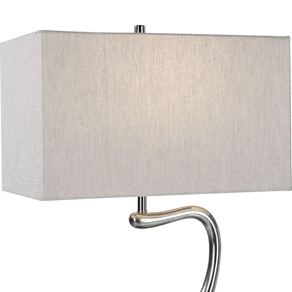 Ezden Silver and Black One-Light Table Lamp, image 6