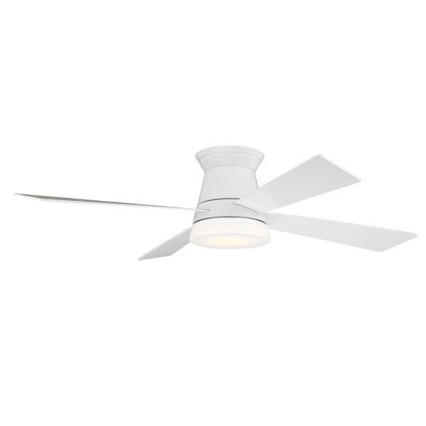 Revello White 52-Inch LED Ceiling Fan, image 3