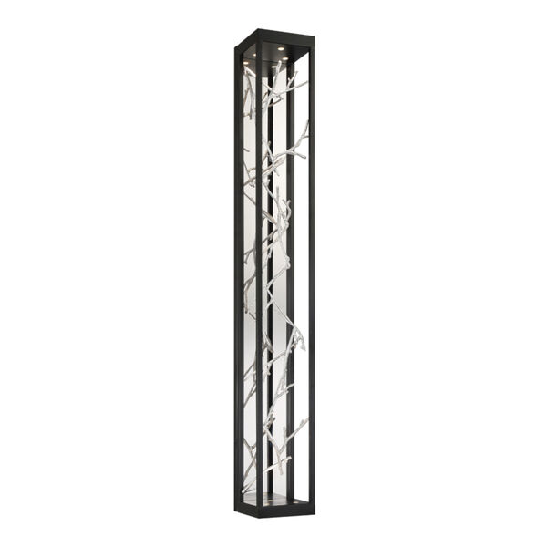 Aerie Black and Silver Six-Light LED Wall Sconce, image 1