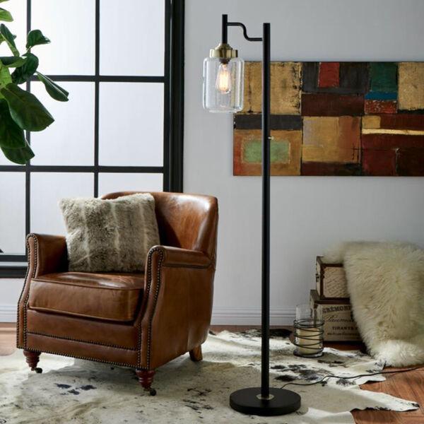 Luken Black One-Light Floor Lamp, image 6