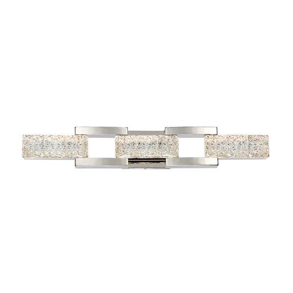 Sofia Polished Nickel 30-Inch LED Bath Light, image 4