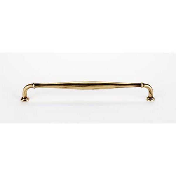 Polished Antique Brass 18-Inch Pull, image 1