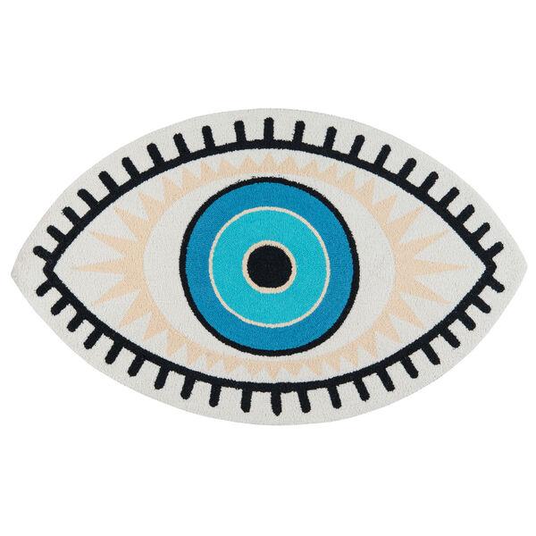 Cucina Blue Eye Rug, image 1