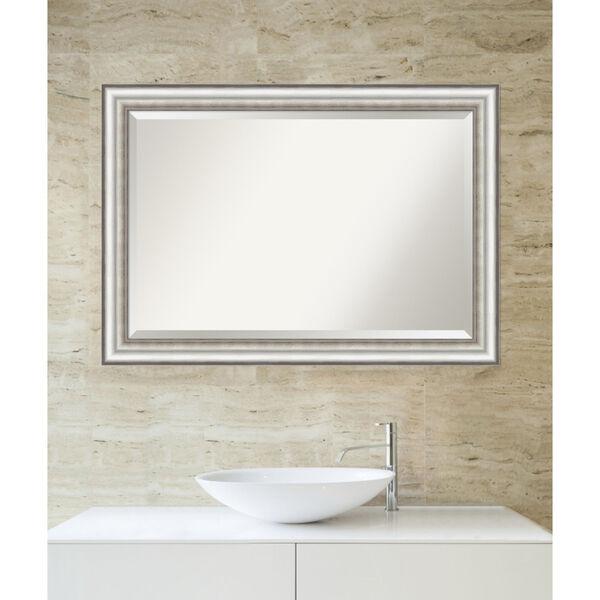 Salon Silver 41W X 29H-Inch Bathroom Vanity Wall Mirror, image 5