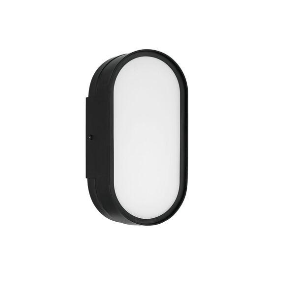 Melody Flat Black LED Wall Sconce, image 1
