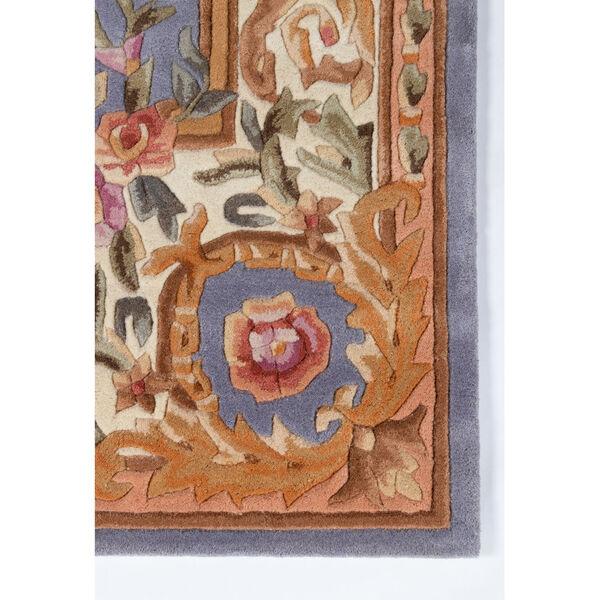Harmony Floral Blue Rectangular: 8 Ft. x 11 Ft. Rug, image 2