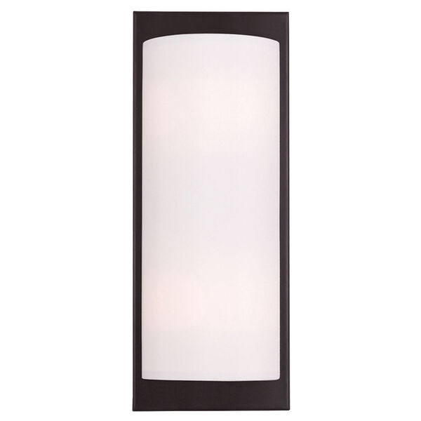 Meridian Bronze 6-Inch Two-Light Bath Sconce, image 1