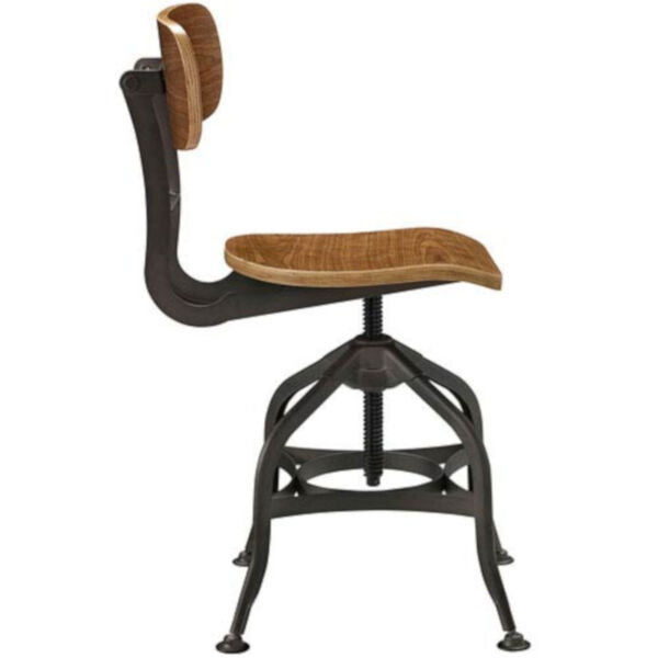 River Station Brown Laminated Bentwood Seat and Back Bar Stool, image 3