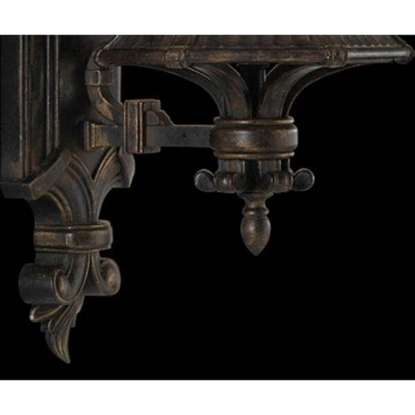 Devonshire One-Light Outdoor Wall Mount in Antiqued Bronze Finish, image 2