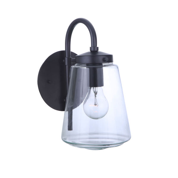Laclede Midnight Six-Inch One-Light Outdoor Wall Sconce, image 6