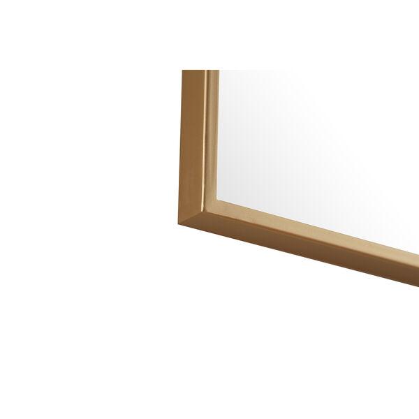Eternity Brass 18-Inch Mirror, image 3