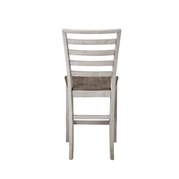 Abacus Smoked Alabaster and Honey Counter Chair, image 6