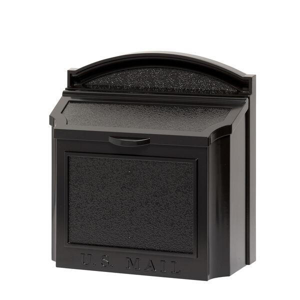 Black Wall Mailbox, image 1