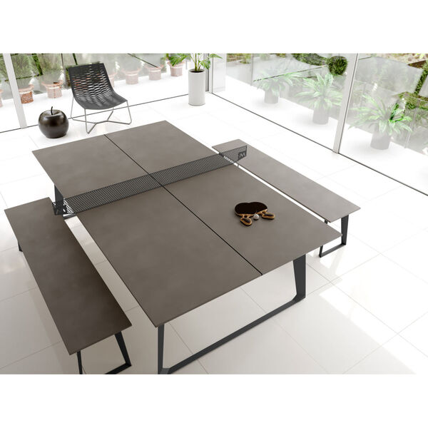 Amsterdam Gray Concrete Ping Pong Table, image 6