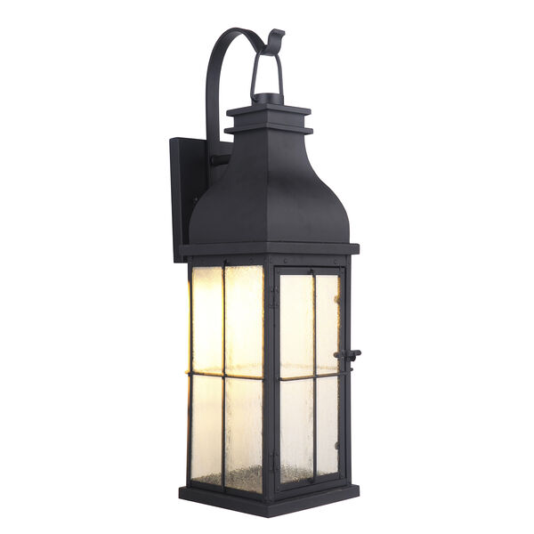 Vincent Midnight LED Five-Inch Outdoor Wall Lantern, image 1