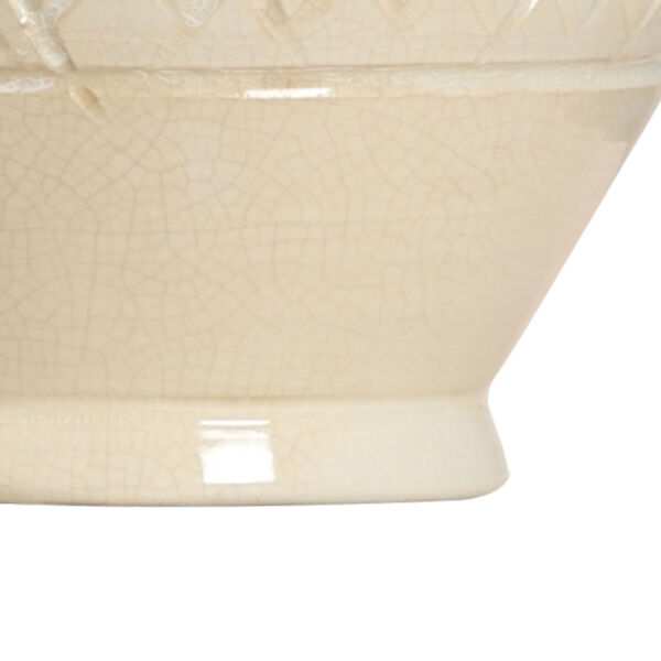 Cancello Cream and White One-Light Table Lamp, image 2