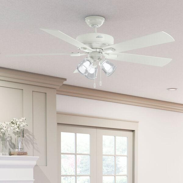 Crestfield Fresh White 60-Inch LED Ceiling Fan, image 5