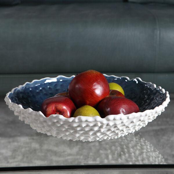 Ciji White Ceramic Bowl, image 2