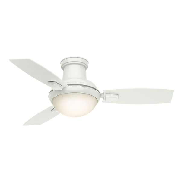 Verse Fresh White 44-Inch LED Ceiling Fan, image 2