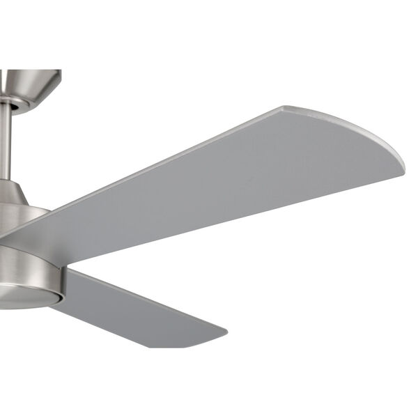 Provision Brushed Polished Nickel 52-Inch Ceiling Fan, image 6