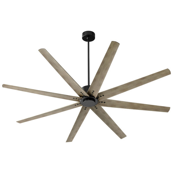 Fleet Black 72-Inch Ceiling Fan, image 1