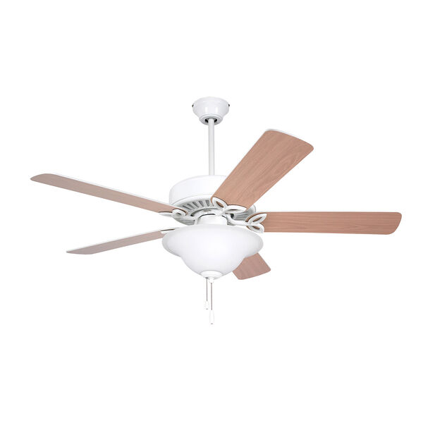 Pro Series White 50-Inch Ceiling Fan, image 3