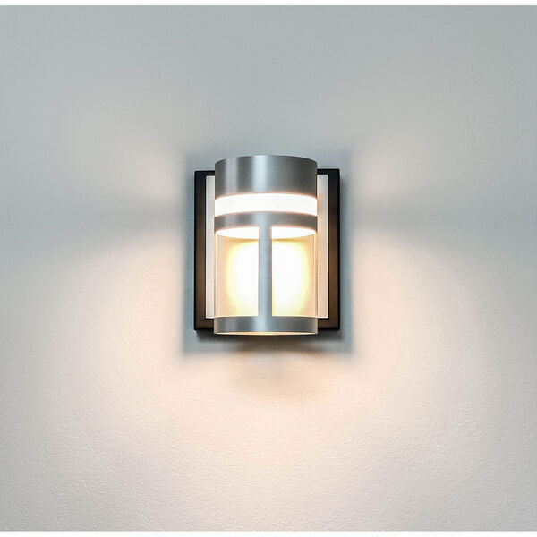 Accord Black And Brushed Aluminum Five-Inch LED Bath Vanity, image 2