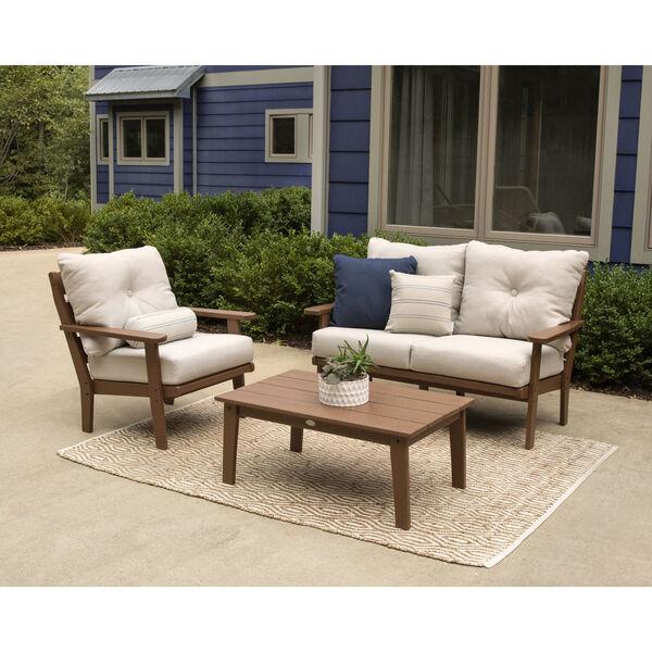 Lakeside Sand and Ash Charcoal Deep Seating Set, 3-Piece, image 2