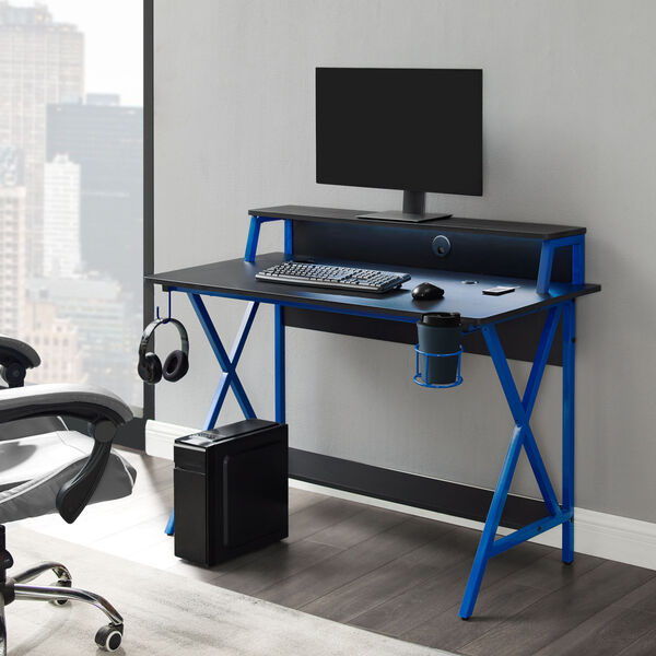 Ian Black Blue Desk, image 2