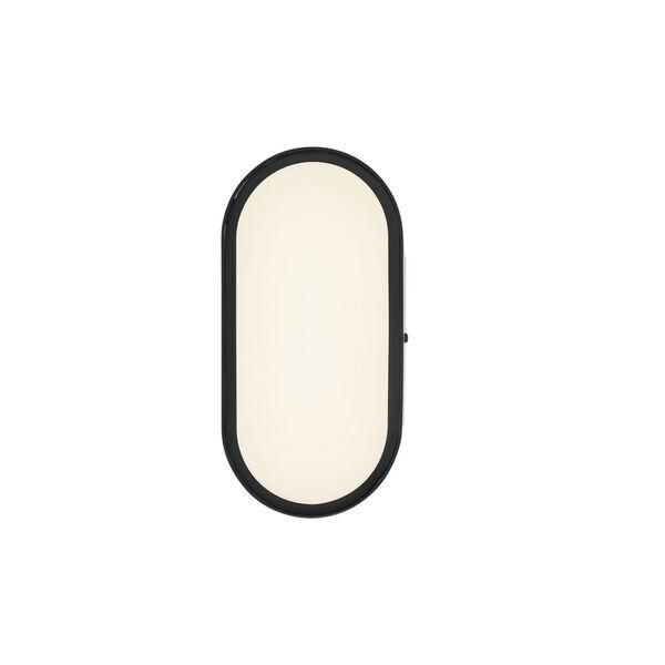 Melody Flat Black LED Wall Sconce, image 4