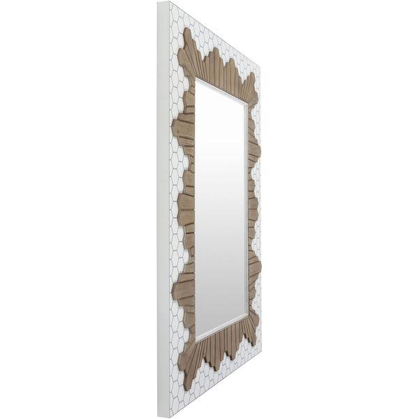 Genaro White Wall Mirror, image 3