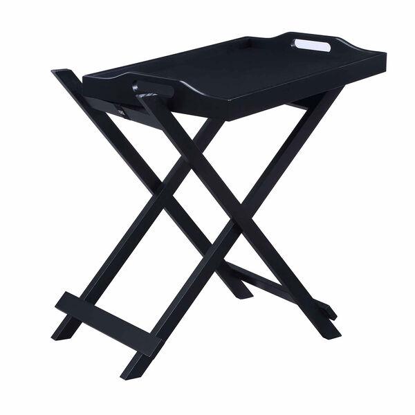 Designs2go Black Folding Tray Table, image 1