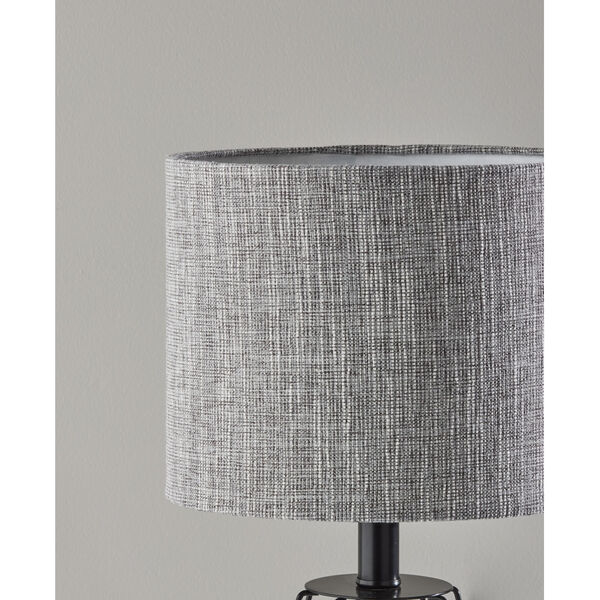 Victor Black One-Light Table Lamp, image 4