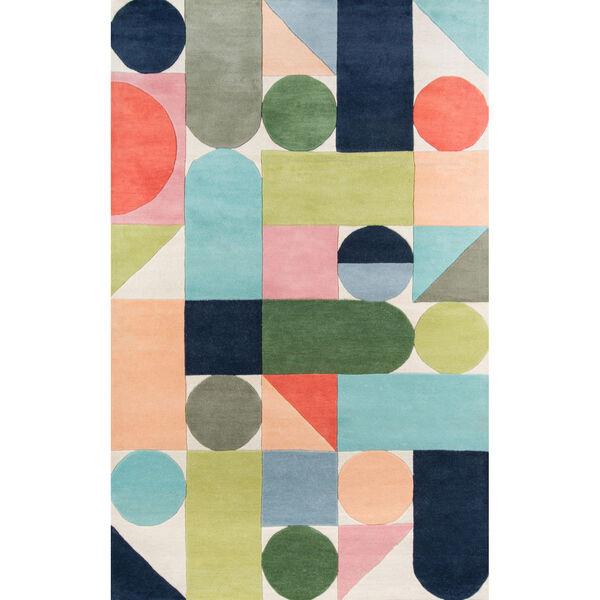 Delmar Wright Multicolor Rectangular: 8 Ft. x 10 Ft. Rug, image 1