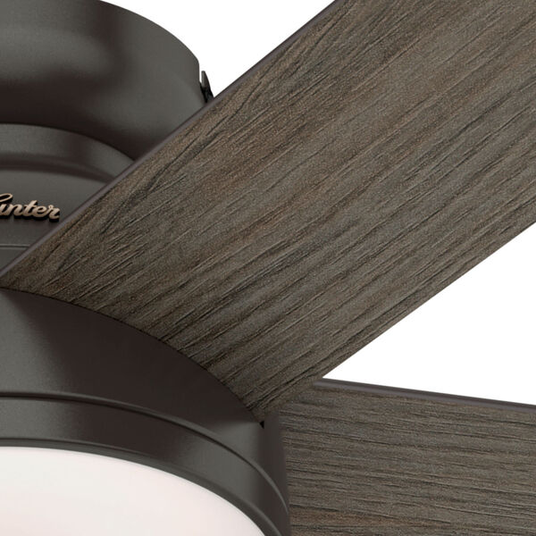 Romulus Low Profile Noble Bronze 54-Inch Smart LED Ceiling Fan, image 6