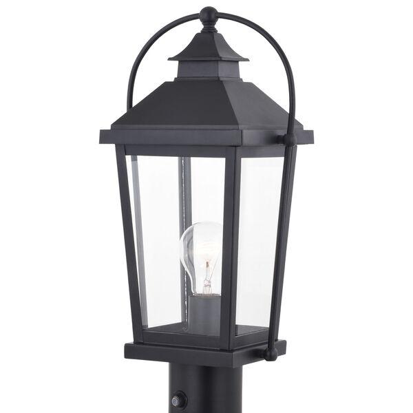 Lexington Textured Black One-Light Outdoor Post, image 1