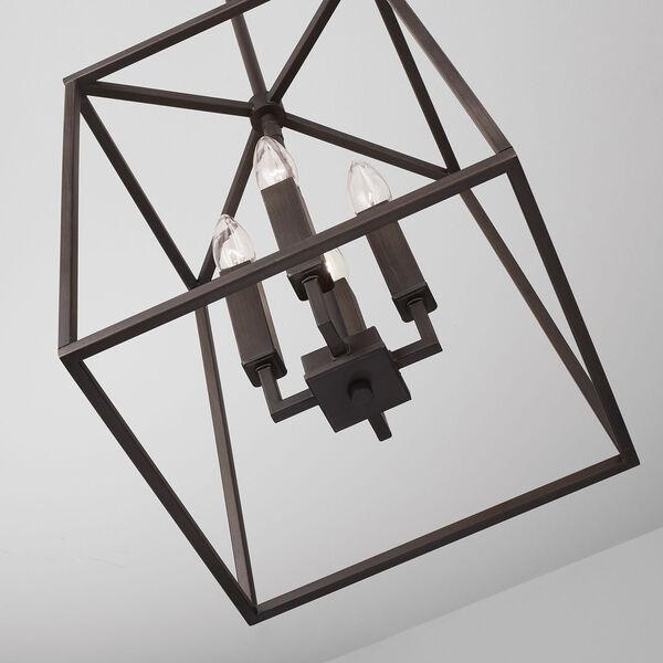 Thea Oil Rubbed Bronze Four-Light Foyer Pendant, image 5