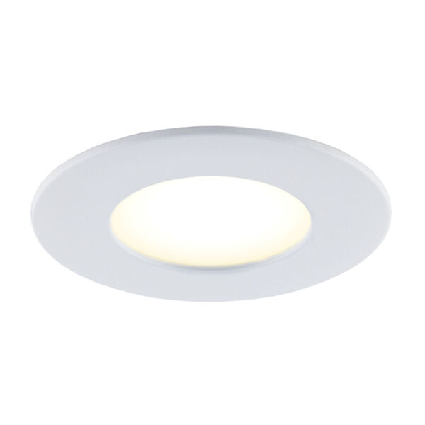 Matte White Wi-Fi RGB LED Recessed Fixture Kit-White with Swith, Pack of 4, image 4