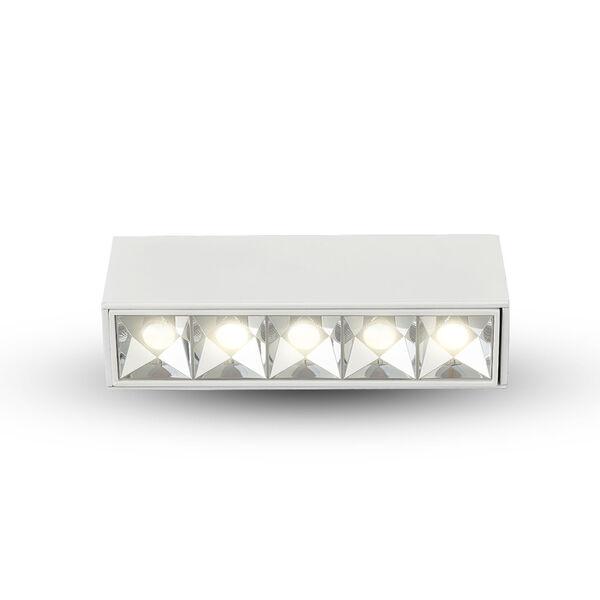 Rubik White Five-Light 12W LED Recessed Downlight, image 2