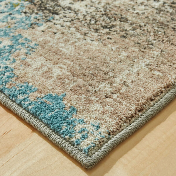 Elements Multicolor Oyster Rectangular: 5 Ft. 3 In. x 7 Ft. 10 In. Rug, image 2