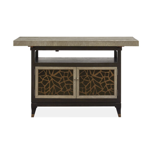 Ryker Black Counter Height Dining Table, image 3