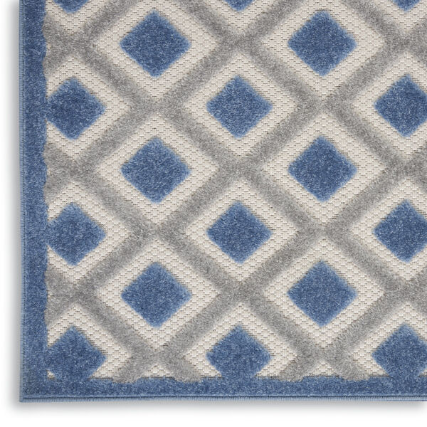 Aloha Blue and Gray Indoor/Outdoor Area Rug, image 5
