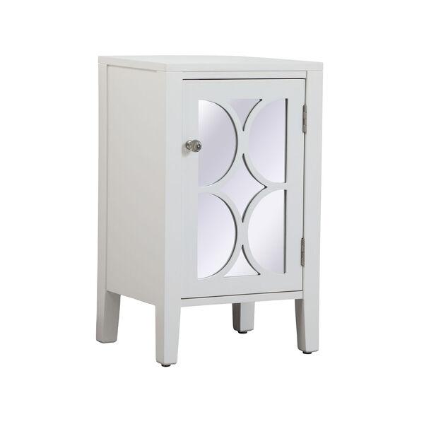 Modern White 18-Inch Cabinet, image 5