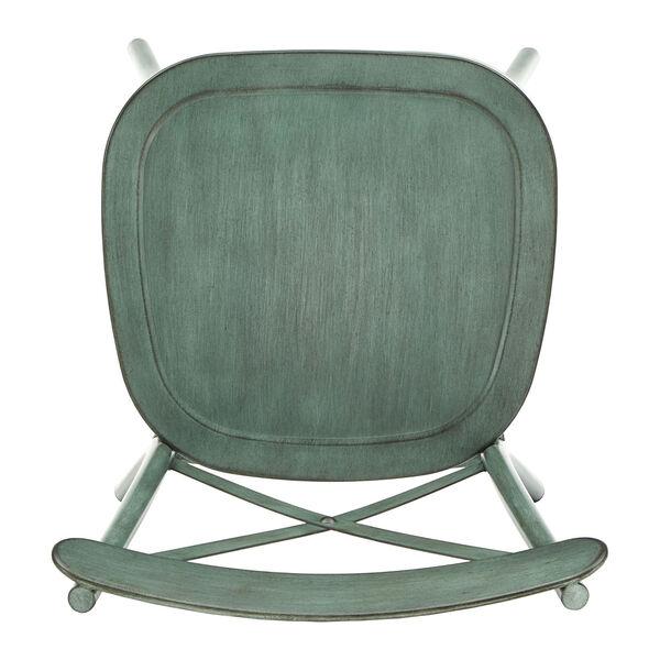Roman Green Metal Dining Chair, image 5